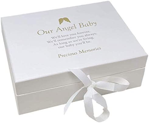 Widdop Our Angel Baby Remembrance Keepsake Memory Box Miscarriage Stillborn Loss Memorial TY120