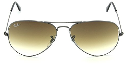Ray-Ban RB3025 Aviator Gradient Unisex Sunglasses Brown 004/51-58mm