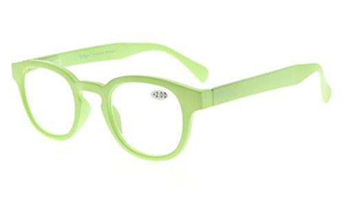 espejo arco mujeres 2 Eyekepper de Claro Rojo lectura iris lente Verde gafas marco 50 d40xvwxIq