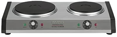 Waring Commercial Heavy-Duty Commercial Cast-Iron Countertop Burner