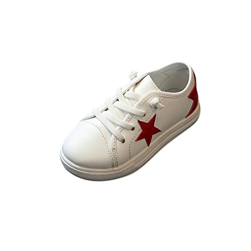 Amanod Children Kid Infant Boys Girls Star Bling Sneaker Lazy Casual Plate Shoes - Dyeable Childrens Shoes