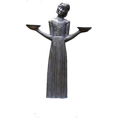 """Bird Girl Statue Without Pedestal """"24h : Garden & Outdoor"""