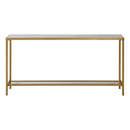 - AR Lighting Hayley Gold Console Table