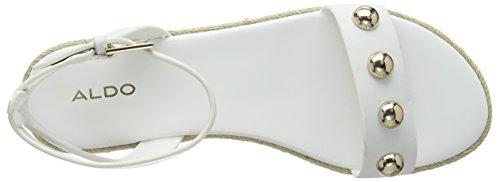 Alaeniel 70 Riemchensandalen Damen Bright Weiß White ALDO 4a6w5q1