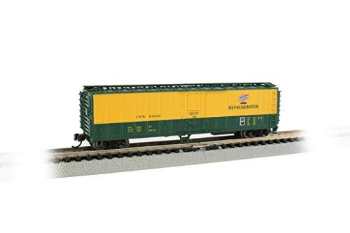 Bachmann Trains 17958 ACF 50' Steel Reefer - Chicago & Northwestern - N Scale, Prototypical Colors