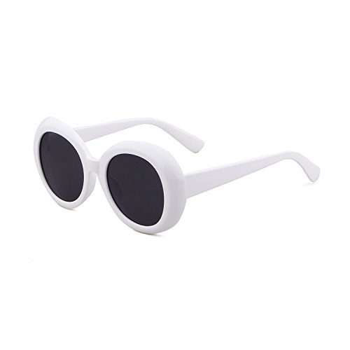 clout goggles large Oval SunGlasses for Men Vintage - Oval Face Sunglasses