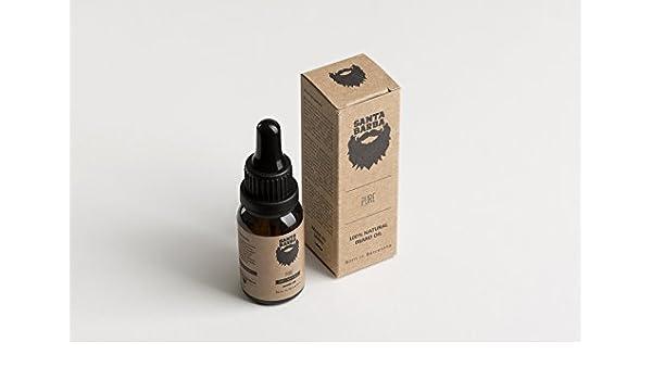 Santa Barba PURE - Aceite para Barba SIN OLOR 100% Natural 15 ml ...