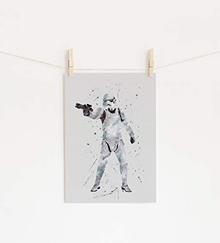 Stormtrooper Star Wars Wall Art Print Room Decor