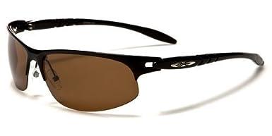 X-Loop polarisierte Sportbrille Unisex Damen Herren Sport Sonnenbrille Kunststoff Metall