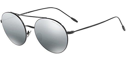 Negro 301488 Sol 0AR6050 para de Mujer Armani Greymirrorsilvergradient 54 Black Gafas qUIdx0w
