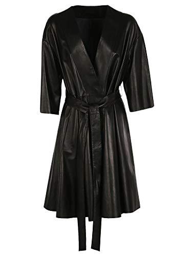 Dpd5498d400n800 Cuir Blouson Noir Drome Femme 4qz0gg