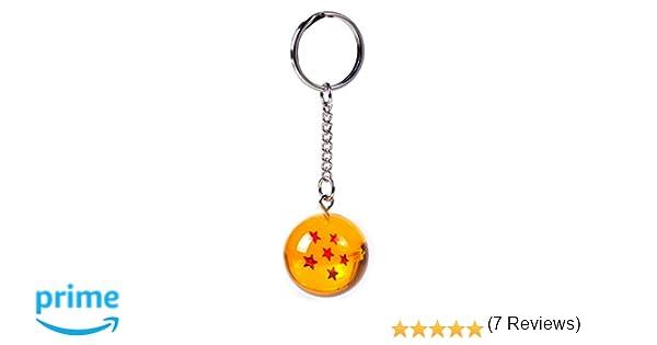 (6S) LLavero 3D Dragon Ball Z (6 Estrellas) - Bola de Dragón Z