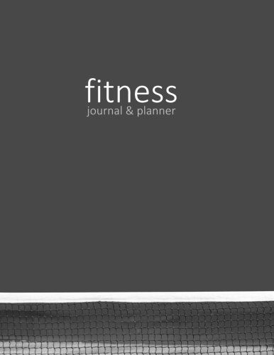 Fitness Journal & Planner (Exercise & Fitness Gifts)