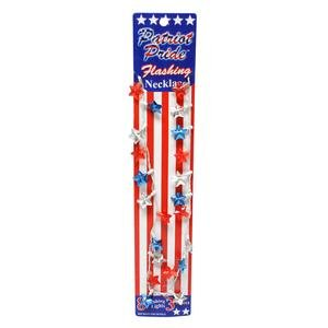 "DM Merchandising 12484 - ""Patriot Pride"" Flashing Necklace"