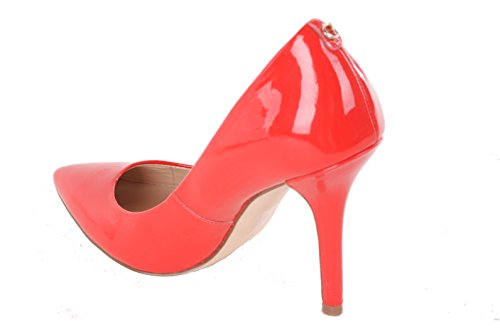 GUESS Damen Pumps Highheels Stilettos Rot