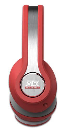 MTX Audio IX1-Red Street Audio On Ear Acoustic Monitors - Red by MTX (Image #1)