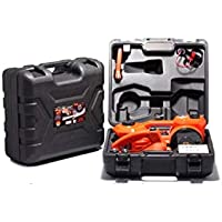 (SUV Electric jack + air pump + Electric Wrench + case (Suit Package))