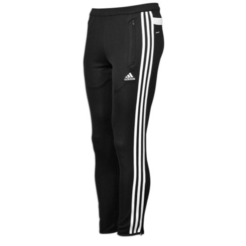 adidas Men's Tiro 13 Training Pant Black/White Pants XL X -