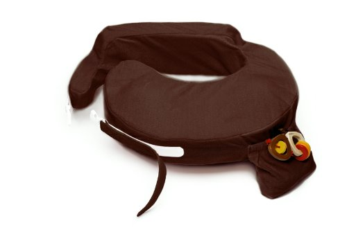My Brest Friend Deluxe Nursing Pillow, Chocolate, 0-12 Months by My Brest Friend