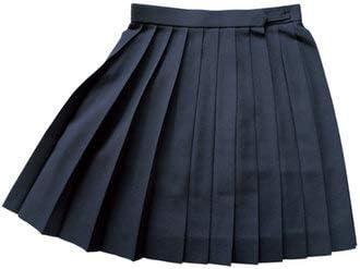 WKRK4-L 紺無地 W75・80・85 丈48・54cmKURI-ORI[クリオリ]スリーシーズンスカート seifuku skirt