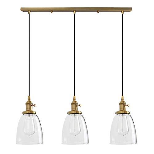 Brass Pendant Porch Light in US - 8
