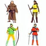 Robin Hood and His Merry Men Complete Set of 4 Action Figures