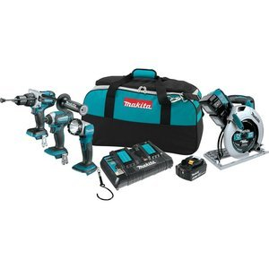 Makita XT443PM 18V X2 LXT Lithium-Ion 36V Cordless Combo Kit (4 Piece) (Discontinued by Manufacturer)