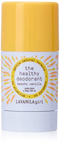 Lavanila Girl The Healthy Deodorant Beachy Vanilla Mini solid deo stick