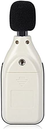 Mini Digitaler Schallpegel-Ger/äuschpr/üfmonitor Dezibel/überwachungspr/üfger/ät schallpegelmessger/ät Digitales Werkzeug-Ger/äuschmessger/ät mit Ger/äuschmessbereich 30~130 dB