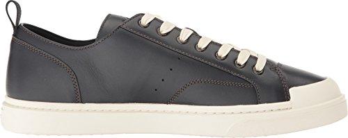 Sneaker Blu Navy In Pelle C114 Da Uomo