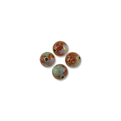 8mm Cloisonne Beads - 3