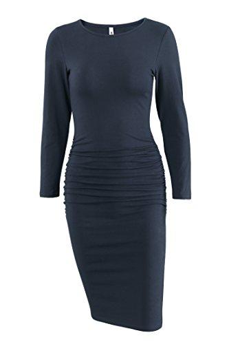 Ruched Sheath Dress - 4