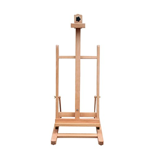 Easels Professional Wooden Art Display Canvas Painting 120Cm Tall Adjustable Wood For Adults - Easy To Assemble - Fits Small And Large Canvases Exhibition ()