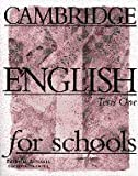 Cambridge English for Schools Tests 1, Patricia Aspinall and George Bethell, 0521656486