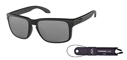 c8aa5904b7 Oakley Holbrook OO9102 9102D6 57M Matte Black/Prizm Black Polarized  Sunglasses For Men For Women+