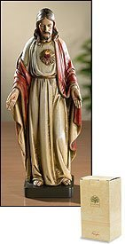 "8"" Sacred Heart of Jesus Christ Statue Toscana Milagros for sale  Delivered anywhere in USA"