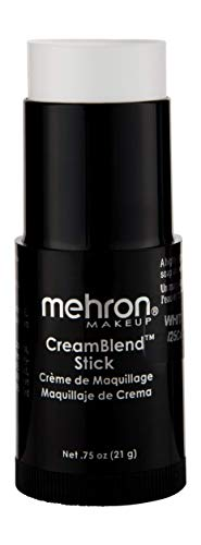 Mehron Makeup CreamBlend Stick (.75oz) (White)