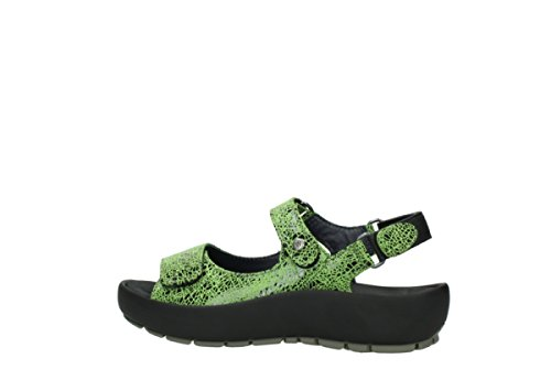 475 Wolky Dive crash suede Chaussures Winter lime À Lacets AwwUr