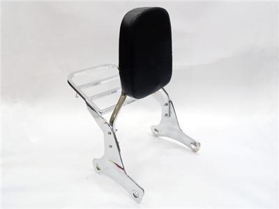 Backrest Sissy Bar Set W/ Luggage Rack for Honda Shadow VT 400 750 ACE