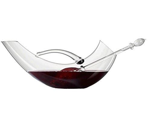 VitaJuwel Wine Decanter Handcrafted Volume Structured Wine Pitcher Regular Wine Bottle Volume Holder
