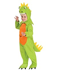 Rubies Costume Co Talking Plush Dinosaur Child Costume, Toddler