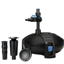Aquascape AquaJet 1300 GPH Submersible Pond Pump & Fountain Kit 91015 by Aquascape