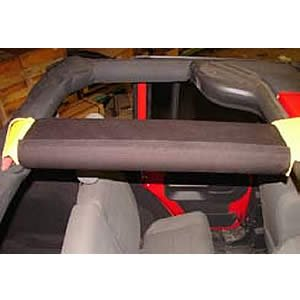 Rear Center Bar Padding For 2007-11 Jeep Wrangler 4 Door With Ultimate Sports Cage