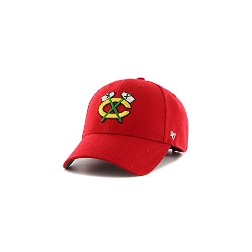 80% OFF  47 Gorra visera curva roja de NHL Chicago Blackhawks Brand ... 396c0c4b510