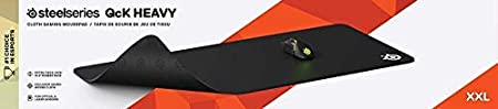 Renewed Large Cloth Best Selling Mouse Pad of All Time Optimized For Gaming Sensors SteelSeries QcK Gaming Surface