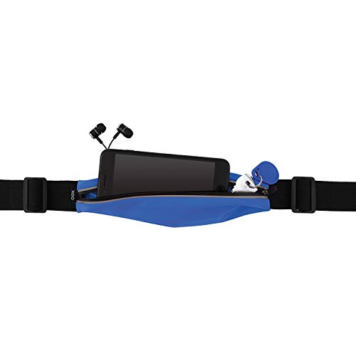 Pochete Sport Fit, OEX, PO100, Mochilas, Capas e Maletas para Notebook, Preto com Azul