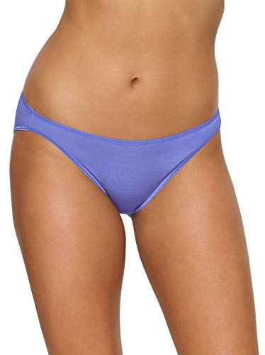 Felina   Low Rise Bikini Panties   Smooth Wear   Seamless Womens Cheekini Underwear   Classic Low Waist Briefs   21 Colors (Felina Garter)