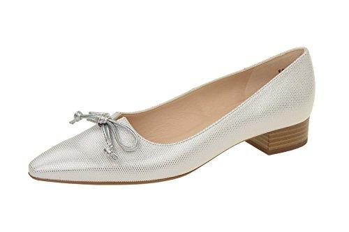 Piel De Zapatos 22707 Peter Para Mujer Lisa Kaiser 569 Weiß Vestir n4OFpYF