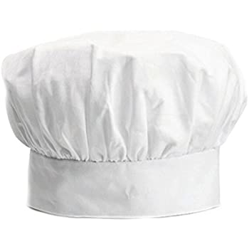 Dadoudou® Chef Hat Tube Sharp with Adjustable Size for Adult/Kids