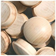 WIDGETCO 3/4'' Maple Button Top Wood Plugs